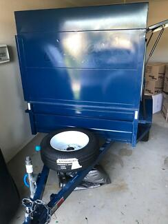 Fully equipped Carpet Cleaning & Pest Control Trailer