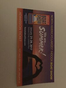 Boat Show Tickets