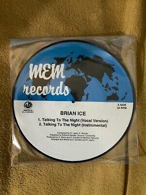 Brian Ice - Talking to the Night - picture disc vinyl
