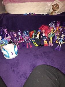 My little pony equestrian girls