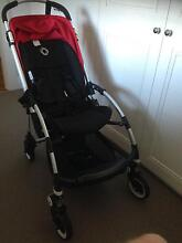 Bugaboo bee stroller red canopy Adamstown Newcastle Area Preview