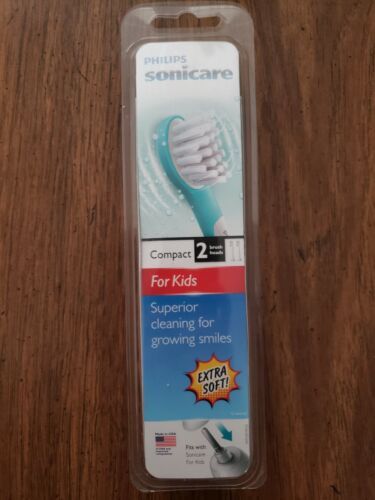 Philips Sonicare for Kids replacement toothbrush heads, HX60