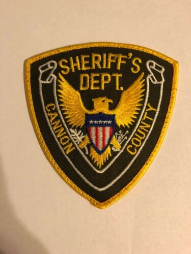 Cannon County Tennessee TN Police Sheriff Patch 2