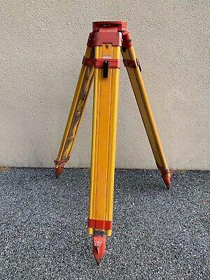 Transit Tripod Keystone Tall Surveyor Contractor Level Tripod Equipment