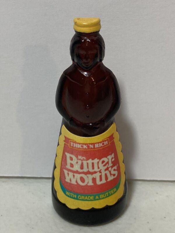 "Mrs Butterworths Syrup 3"" Refrigerator Magnet Plastic Vintage Collectible"