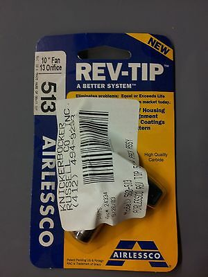 Airlessco Rev-tip With Pack Assy - Pn 560-513 10 Fan .013 Orifice