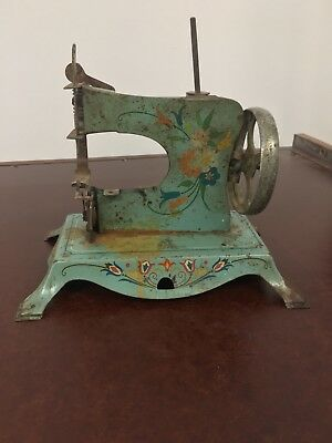 antique toy sewing machine