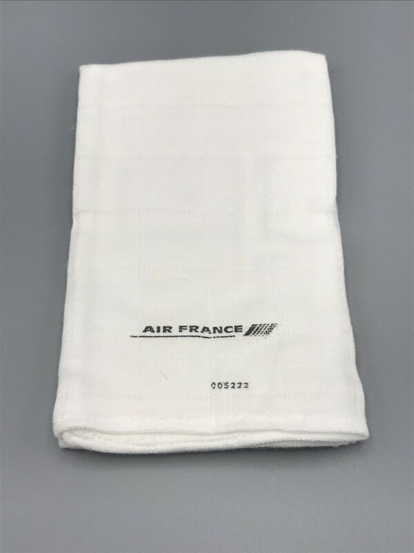 VTG New Air France First Class Airline Finger Towel