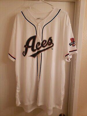 Reno Aces Gray Baseball Raglan Tee T Shirt Youth Boys Girls XL