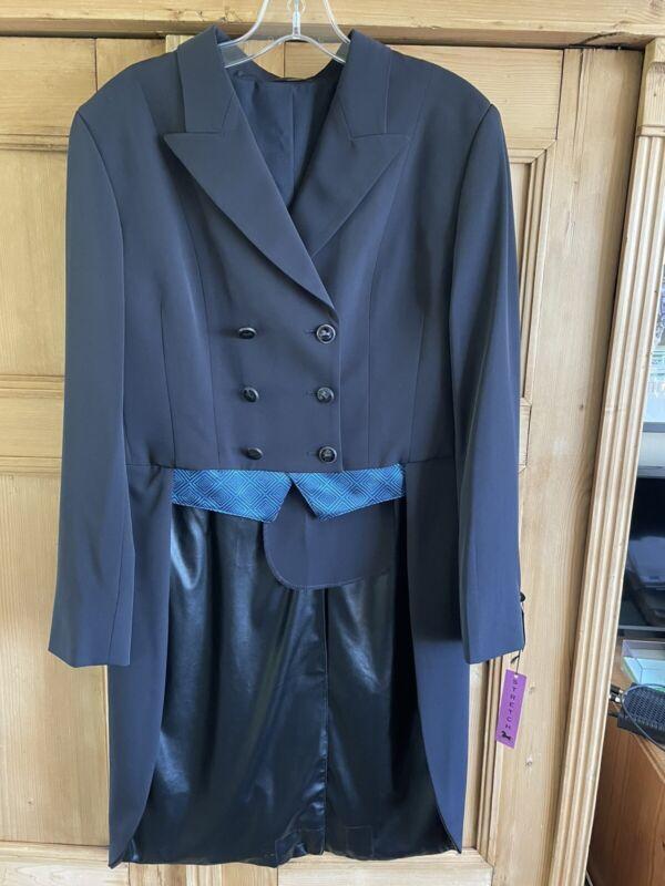 NWT RJ Classic Renvers Dressage Dark Navy Shadbelly - Size 8R