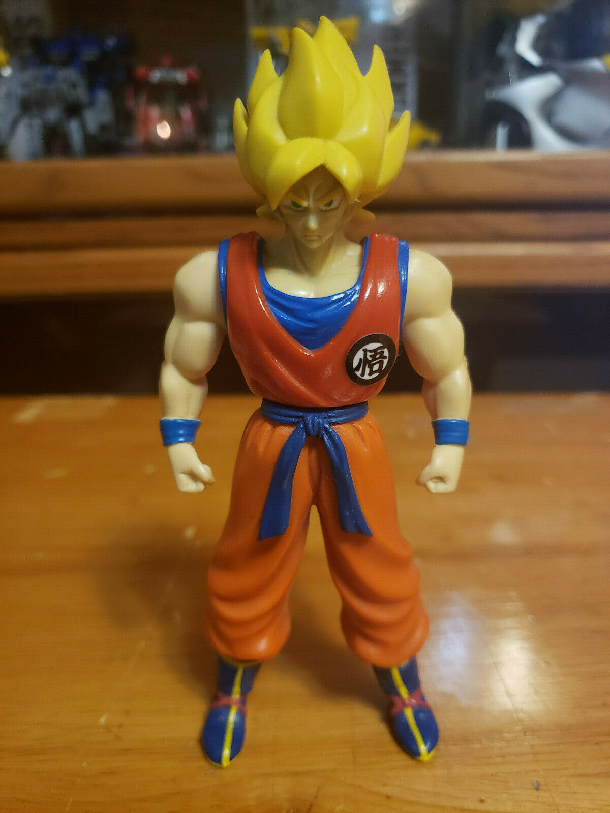 Character:Super Saiyan Goku Vol 2 (yellow hair):BANDAI Dragonball Z  and Dragon Ball GT super battle collection AB Toys & Irwin