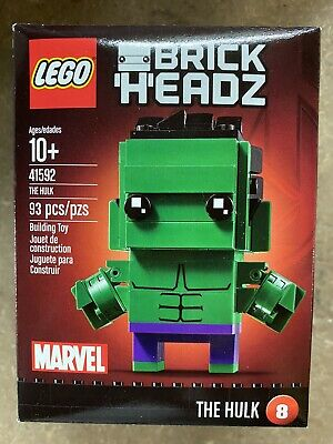 NEW IN BOX LEGO BRICKHEADZ THE HULK 41592 MARVEL