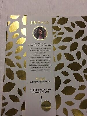 Brit Co Design Your Own Planner 6 Ring Binder Hustle Your Heart Out New