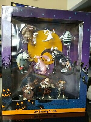 Nightmare Before Christmas PVC Figurine Box Sets I & II Rare Vintage Collectible