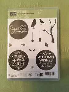 New Stampin Up Among the Branches stamp set