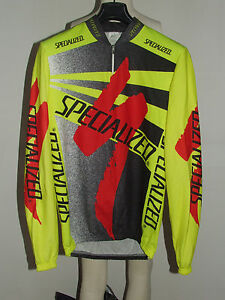MAGLIA-BICI-CICLISMO-SHIRT-MAILLOT-CYCLISM-SPORT-SPECIALIZED-INVERNALE-tg-XL