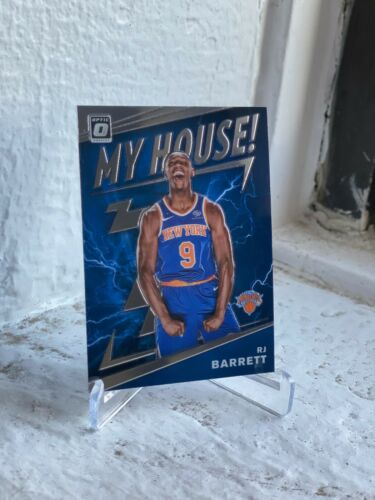 2019-20 DONRUSS OPTIC NEW YORK KNICKS R.J. BARRETT MY HOUSE RC ROOKIE NO. 17