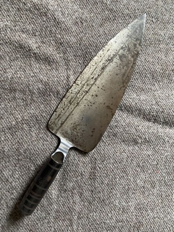 M1873 Trapdoor Springfield Trowel Bayonet Rice Chillingworth Original Indian War