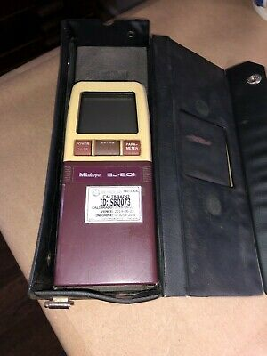 Mitutoyo Sj-201 Surface Roughness Tester