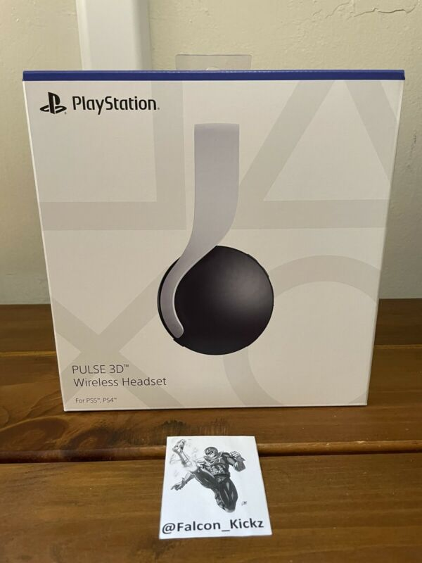 NEW PS5 Sony Pulse 3D Wireless Gaming Headset for PlayStation 5 Free Shipping