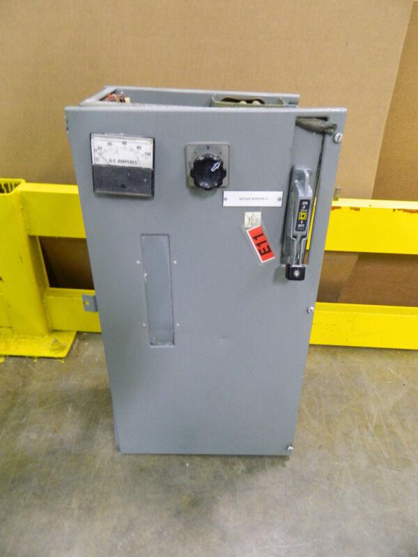SQUARE D MCC BUCKET MOD 4 SIZE 3 SZ3 STARTER 120V VOLT COIL 60A 60 A AMP BREAKER