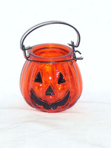 Yankee-Candle-Halloween-Jack-O-Lantern-Glass-Pumpkin-Glass-Tea-Light-Holder