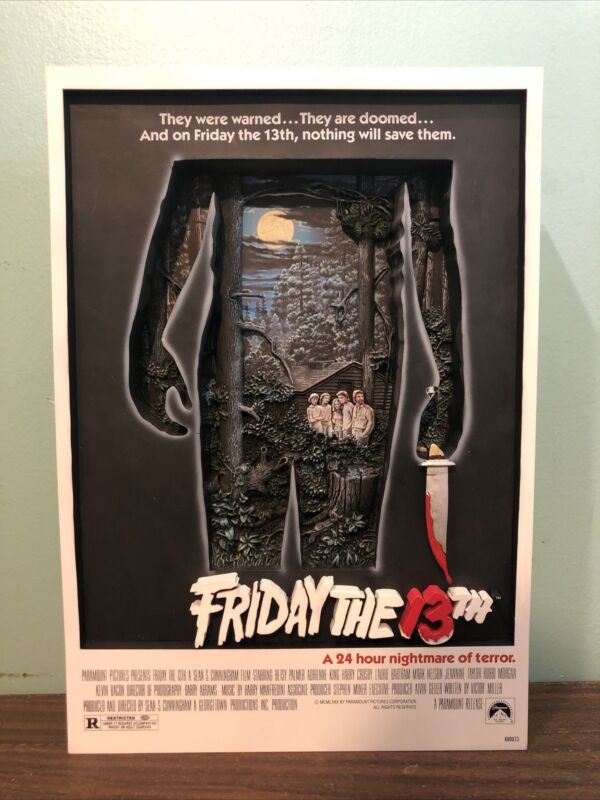 Friday the 13th 3D Movie Poster McFarlane Toys