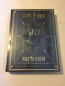 Harry Potter Page to Screen Hardcover Book New Sealed