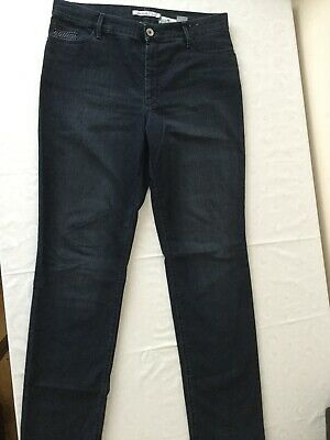 Women GARDEUR INGA Dark Blue Denim Jeans Size 20L Long * Worn Once Only*