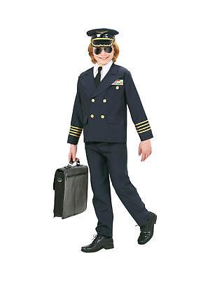 Kostüm für Kinder Pilot Uniform Karneval Fasching (Pilot Kostüm Für Kinder)