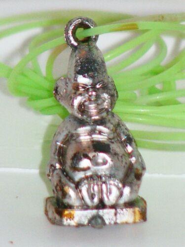Vtg 1960/70s Gumball Vending Machine Charm Necklace Pinhead Sideshow Freak