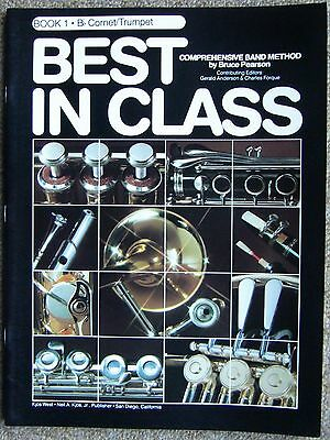 Best In Class - Book 1 Bb Cornet/Trumpet - Music Book By Bruce Pearson