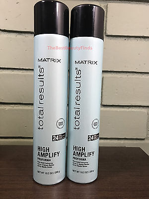 Matrix Total Results High Amplify Proforma Firm Hold Hairspray 10.2oz ( 2 PACK )