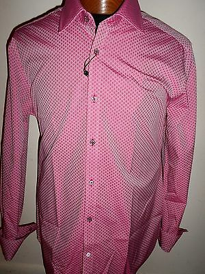 Beautiful Robert Graham   Arqua  Berry Color Size 46 18 Nwt