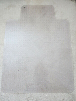 Carpet Chair Mat With Lip Uline H-1460 36x48 Clear For Low Pile Carpeting