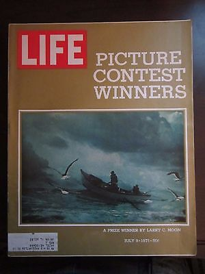 Life Magazine Picture Contest Winners July 1971