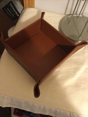 Vintage Modern Thomas O Brien Leather Tray