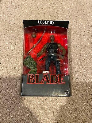 New Sealed Hasbro Marvel Legends BLADE Man-Thing BAF 2017