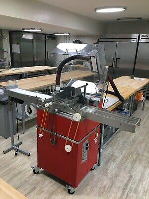 Perfect Choco Chocolate Wheel Tempering Machine Enrober - Vibration Table 110v