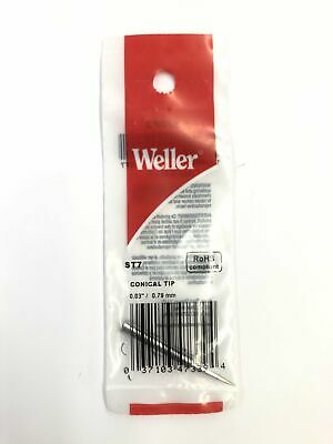 New Weller St7 0.03 0.79mm Conical Tip For Wp25 Wp30wp35 Wlc100