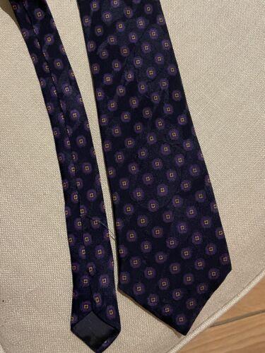 Lanvin cravate en soie