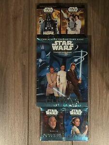 Star Wars TCG from Wizards of the Coast 1 starter 4 decks