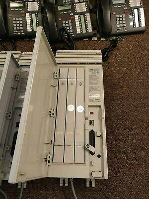 Nortel Norstar Mics Fiber Trunk Module M12x0 Ntbb20fb-93 W 3 Trunk Cards