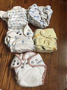 Grovia kiwi pie fitted cloth diapers