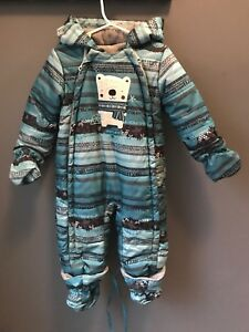 Baby Boy Souris mini Snowsuit