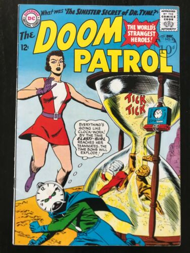 Doom Patrol 92 First AppTerrible Doctor Tyme! High Grade!!  HBOMax! DC Universe!