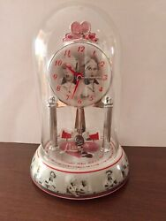 I LOVE LUCY Anniversary Clock - Ethel and Lucy Chocolate Factory