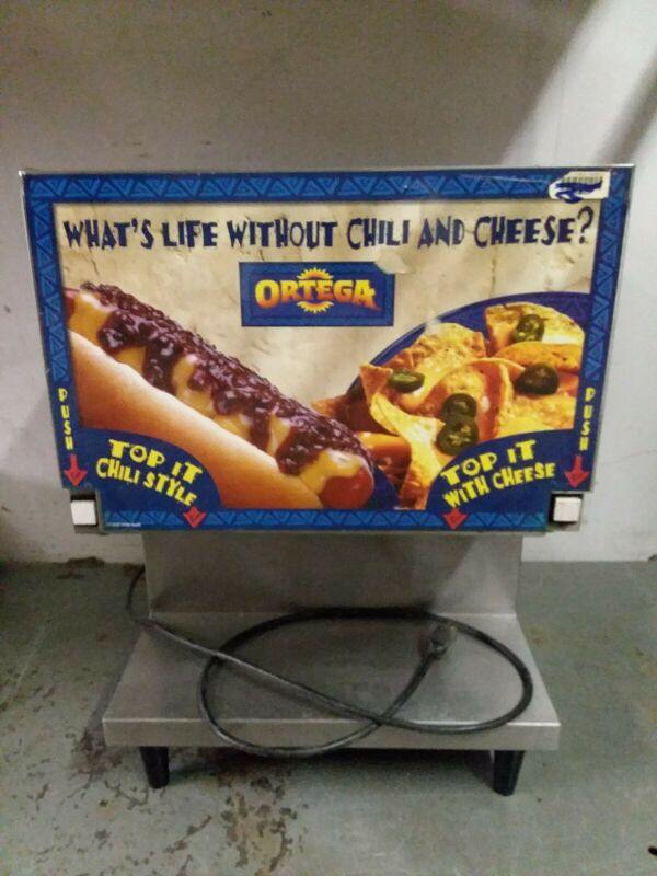 Star CSD-2N Nacho Cheese Machine Double Peristaltic Chilli Dog Commercial Ortega