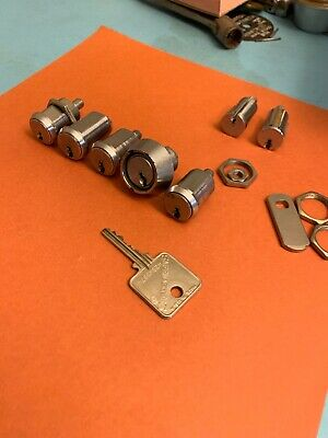 Medeco Cam Locks Lot Of 7 Locks