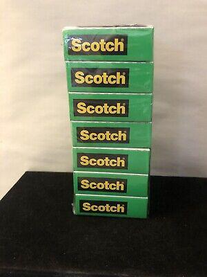 2 Rolls Scotch Magic Tape 3m 810 34 Inch X 1000 Inch Refill